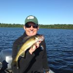 Walley Fishing in Gull Lake MN